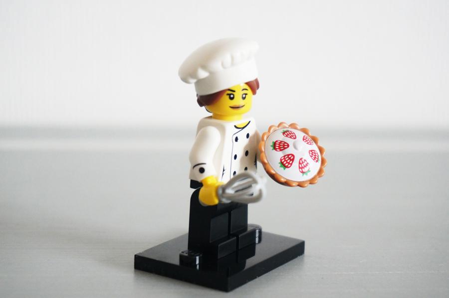 レゴミニフィギュアシリーズ17グルメチーフパティシエ