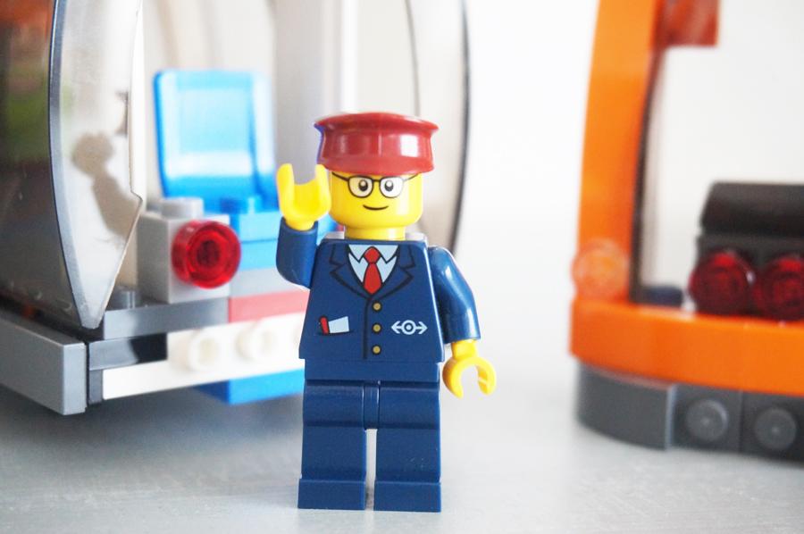レゴシティ車掌さん