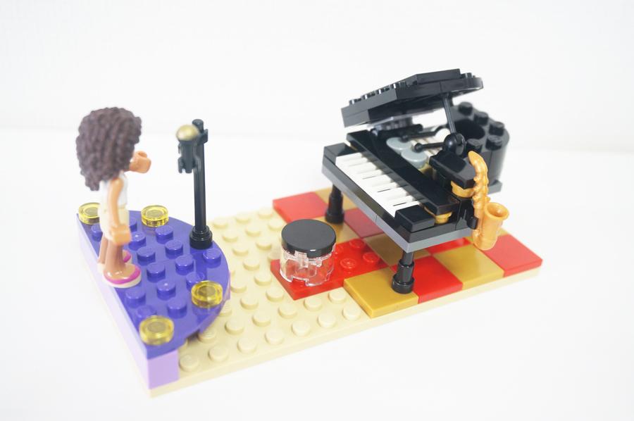 41101レゴフレンズハートレイクホテル グランドピアノ