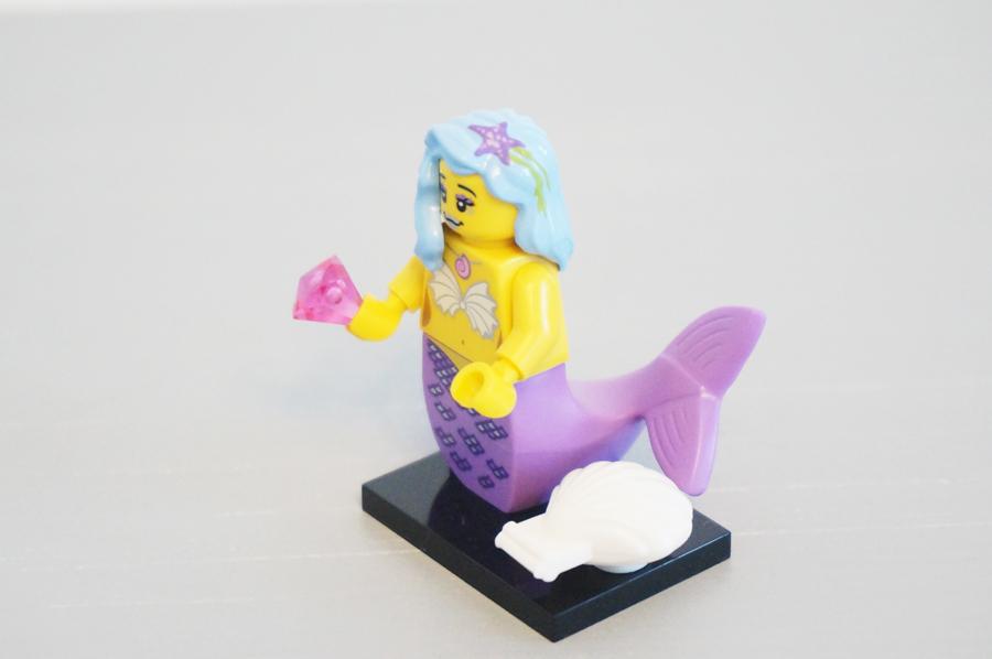 7100471004レゴミニフィギュアレゴムービーシリーズ人魚
