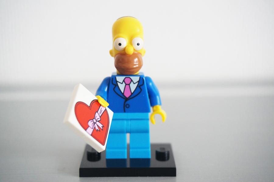 71009レゴミニフィギュア ザ・シンプソンズ第2弾ホーマー