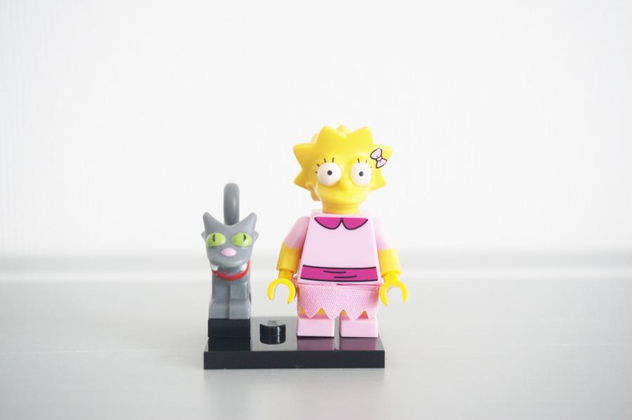 71009レゴミニフィギュア ザ・シンプソンズ第2弾リサ