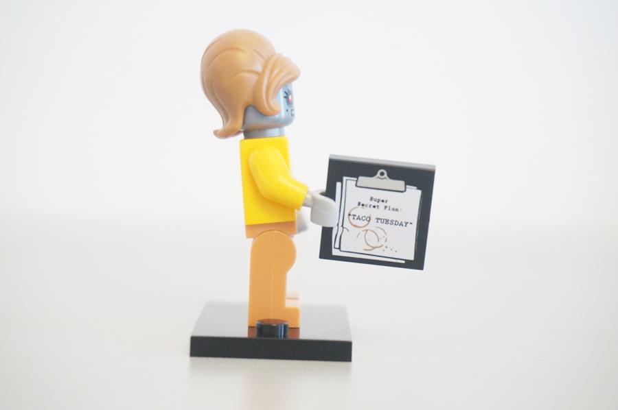 7100471004レゴミニフィギュアレゴムービーシリーズべルマ・ステイプルボット秘書