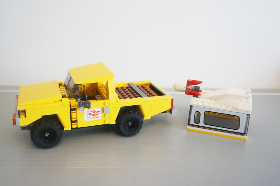 レゴ (LEGO) トイ・ストーリー ピザ・プラネット・トラックで救出 7598