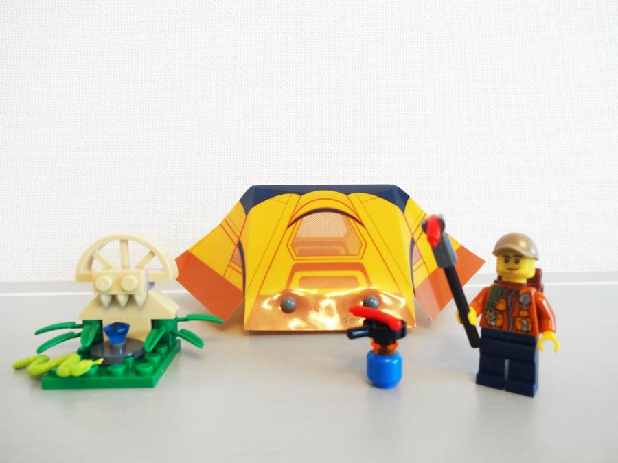 40177LEGOシティ キャンプセット Jungle Explorer Kit
