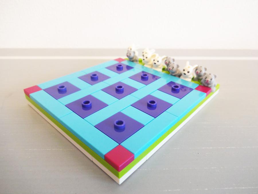 40265LEGOフレンズうさぎとねずみのミニゲームTic-Tac-Toe