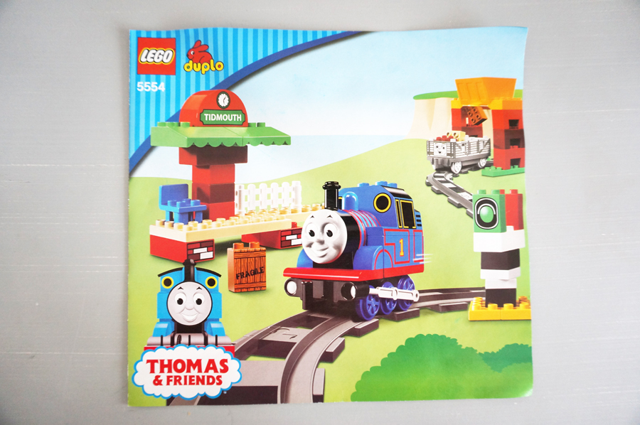 5554レゴデュプロトーマス Thomas Load and Carry Train Set