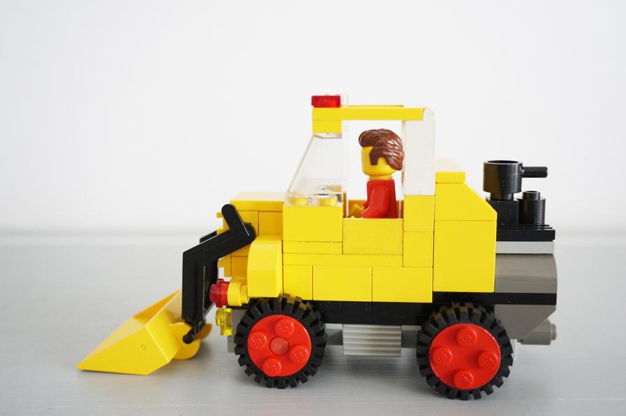 レゴのショベルカー
