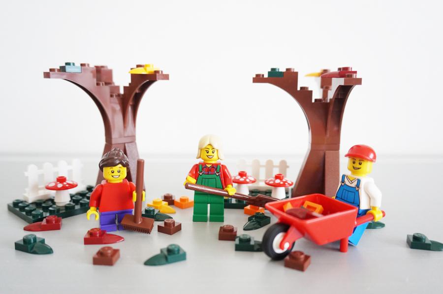 季節秋シーン LEGO40057