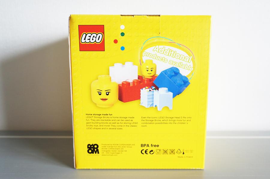 LEGOストレージヘッドS パンプキン