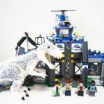 75919LEGOジュラシックワールド インドミナス・レックスの脱走 Indominus rex Breakout
