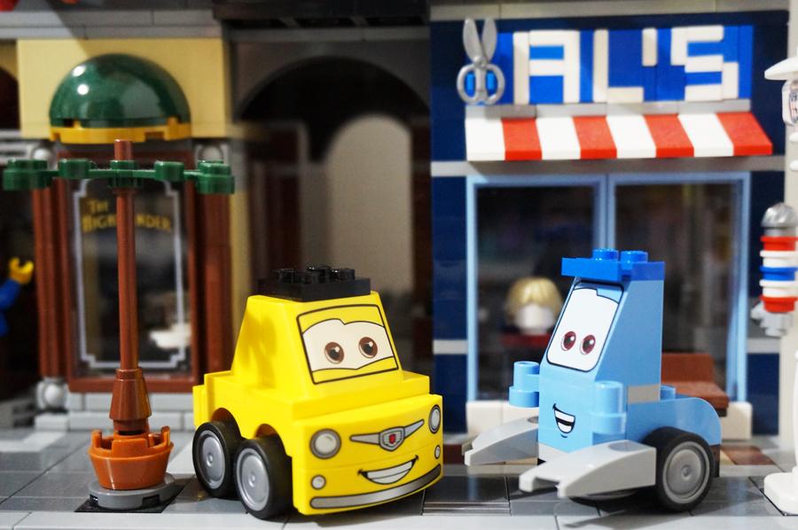 10732レゴジュニア カーズ グイドとルイジのピットストップGuido and Luigi's Pit Stop