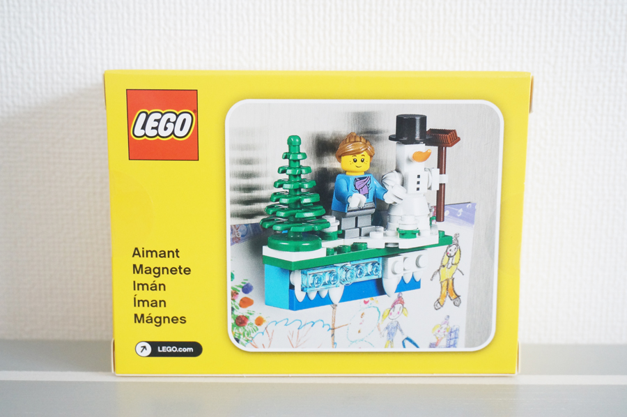 LEGO853663 Iconic Holiday Magnet