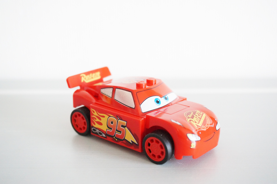 10730 LEGOジュニアカーズライトニングマックィーンのスピードランチャー