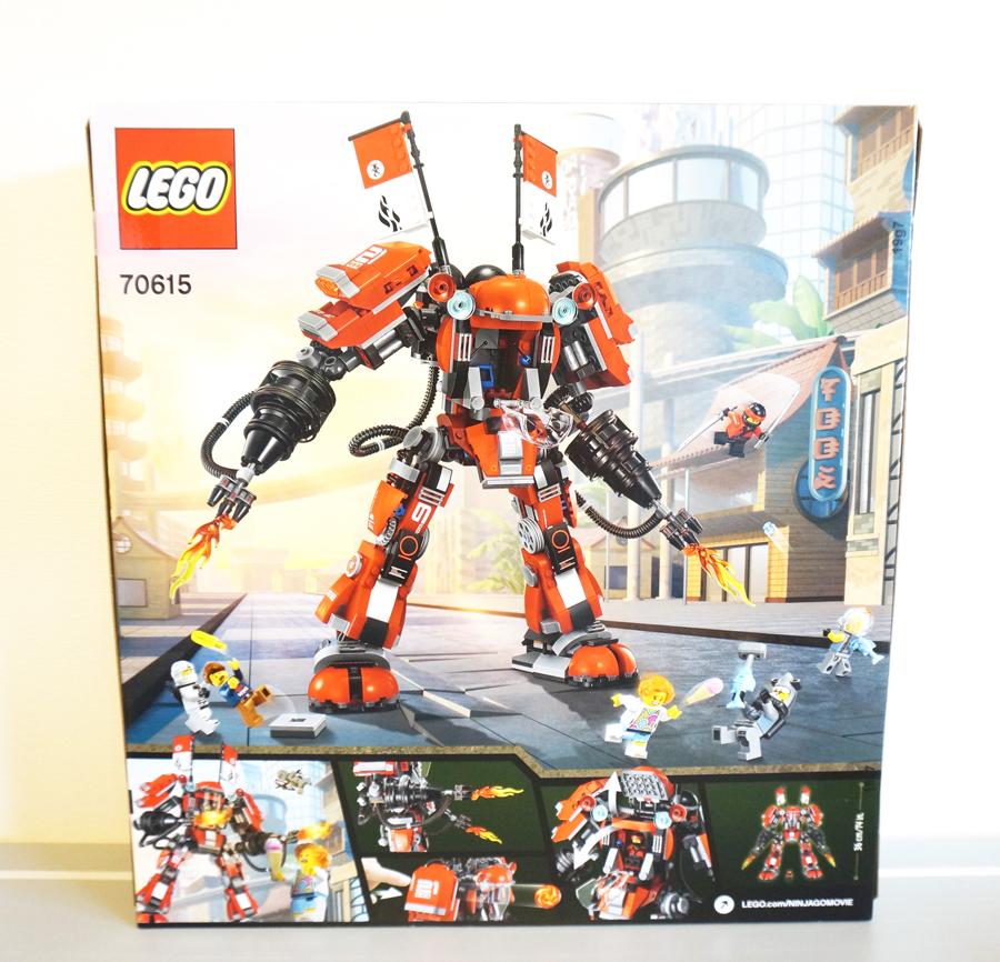 LEGO70615 カイのファイヤーメカ Fire Mech