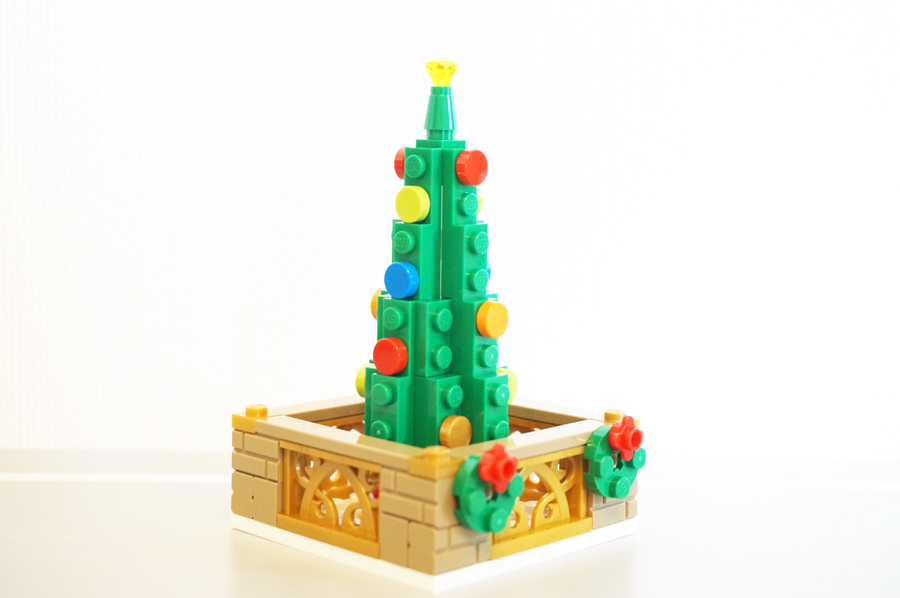 LEGO40263Christmas Town Square