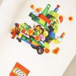 クリブリでもらったレゴのラッピングペーパー