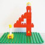生後4か月の記念レゴ