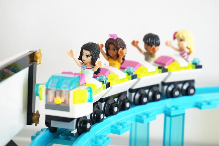41130レゴフレンズ遊園地ジェットコースター Amusement Park Roller Coaster