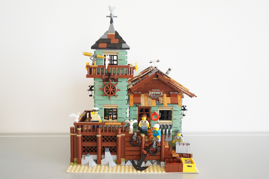 LEGO IDEAS21310つり具屋 Old Fishing Store