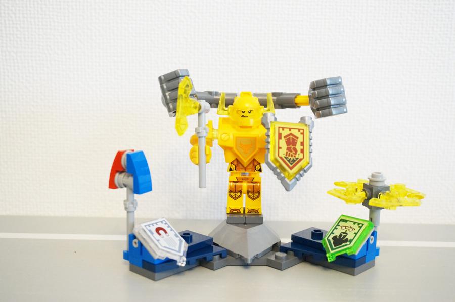 70336ネックスナイツ アクセルシールドセット Nexo Knights Ultimate Axl