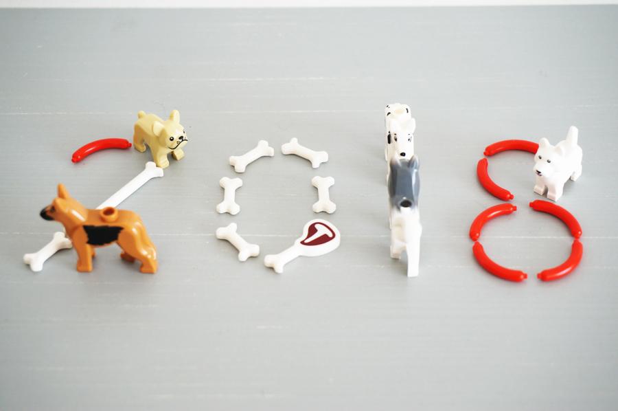 2018年戌年お正月のレゴ