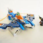 0320LEGOネックスナイツ エアロストライカーV2 Aaron Fox's Aero-Striker V2