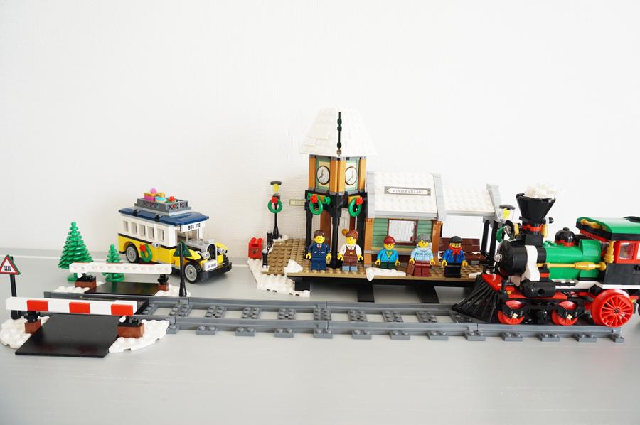 10259LEGOウィンター ビレッジ ステーション Winter Village Station