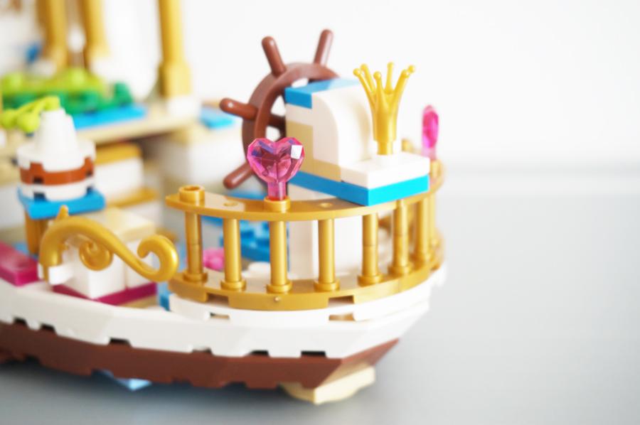 41153LEGOディズニーアリエル海の上のパーティーAriel's Royal Celebration Boat