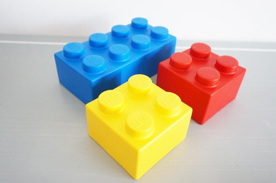 レゴソフトブロックをレゴランドのスタンプカード引き換えでもらったよ