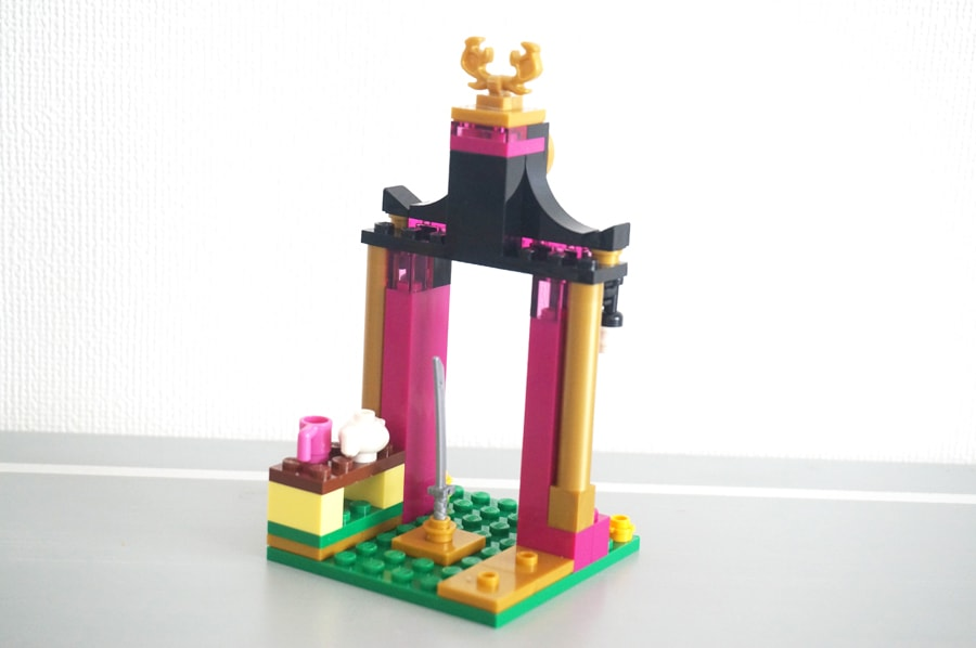 "41151LEGOディズニームーラン""寺院と剣"" Mulan's Training Day"