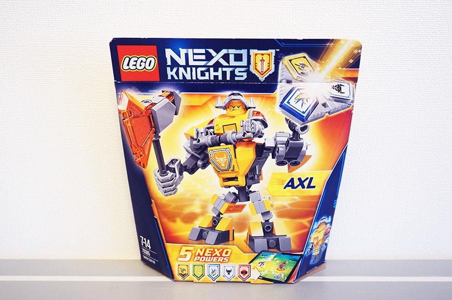 70365 LEGOネックスナイツバトルスーツアクセル NEXO KNIGHTS Battle Suit Axl