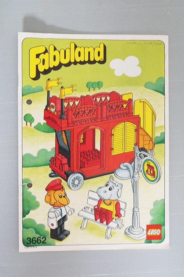 3662LEGO Fabuland Bus, Doppeldeckerbus ファビュランドの2段バス