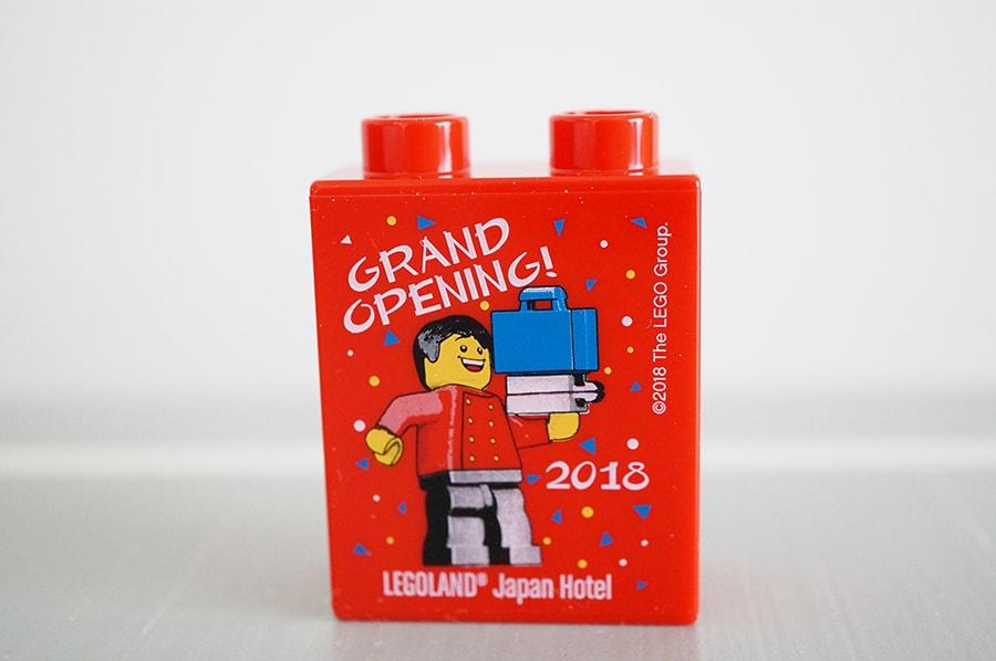 レゴランドホテルのお部屋にあったレゴ