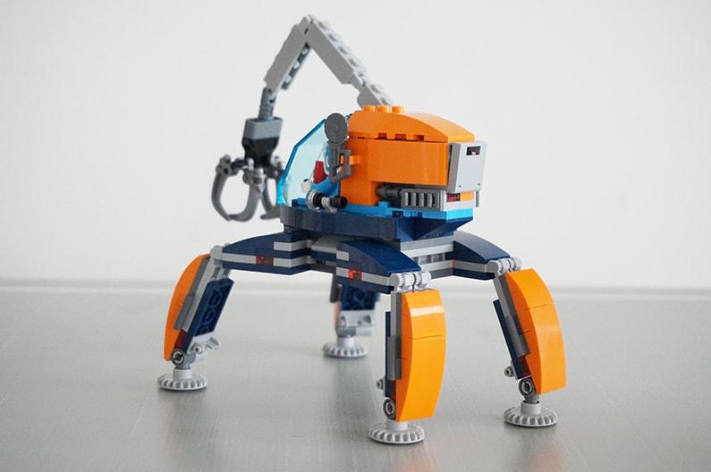 60192LEGOシティ 北極探査ロボット Arctic Ice Crawler