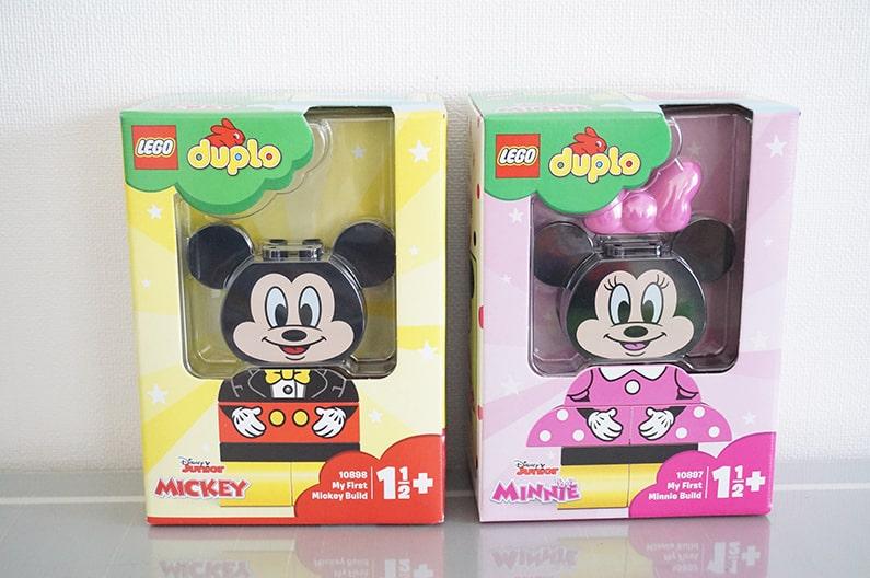レゴデュプロ10898ミッキーマウスの着せ替えセット&10897ミニーの着せ替えセット
