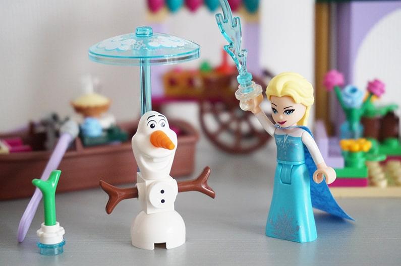 41155レゴディズニーアナと雪の女王アレンデールの市場
