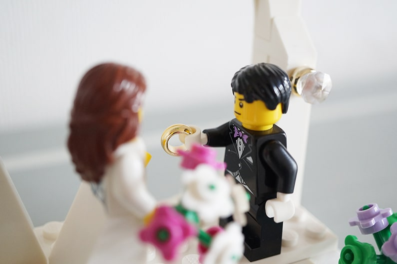 LEGO40165結婚式のセット Wedding Favor Set