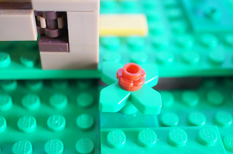 LEGO21140マインクラフト ニワトリ小屋