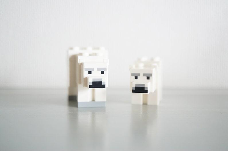 LEGO21142マインクラフト北極のイグルー